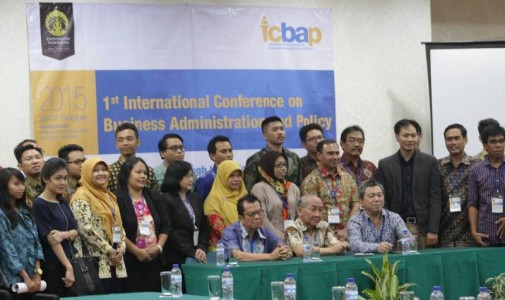 "Dokumentasi ""The 1st International Conference on Business Administration and Policy (ICBAP)"""