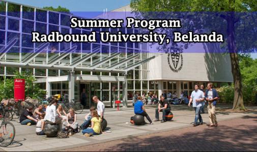 Summer Program Radboud University Belanda