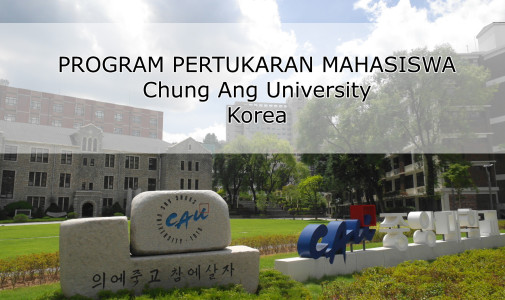 Exchange Program Chung Ang University Korea