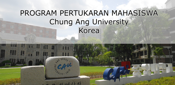 Program Pertukaran Chung Ang University Korea