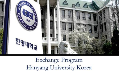 Exchange Program Hanyang University Korea