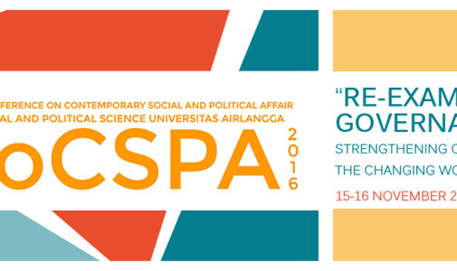 (Indonesia) International Conference on Contemporary and Political Affair ICoCSPA Call for Abstracts