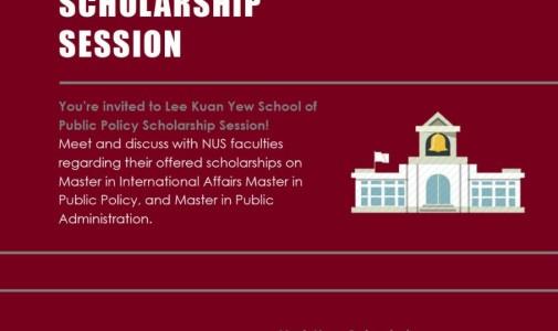 Lee Kuan Yew Schoolarship Session