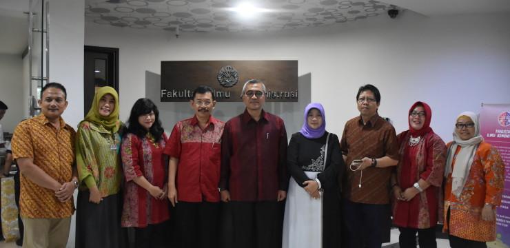 Kunjungan Studi Banding UNTAG Surabaya ke FIA UI
