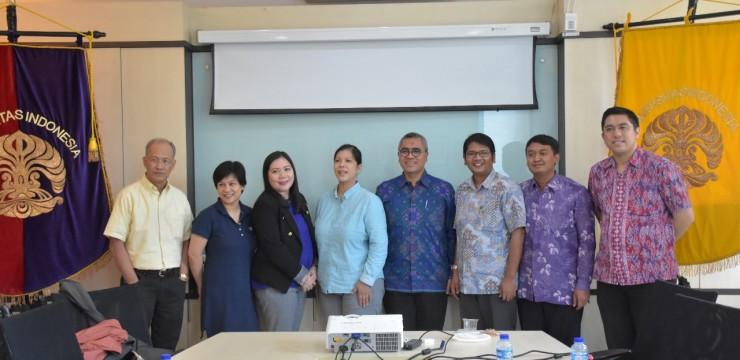 Kunjungan Resmi University of the Phillippines ke FIA UI