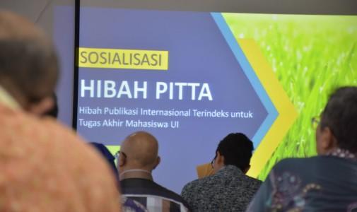 Hibah PITTA Sebagai Ajang Perkuat Kolaborasi Dosen dengan Mahasiswa