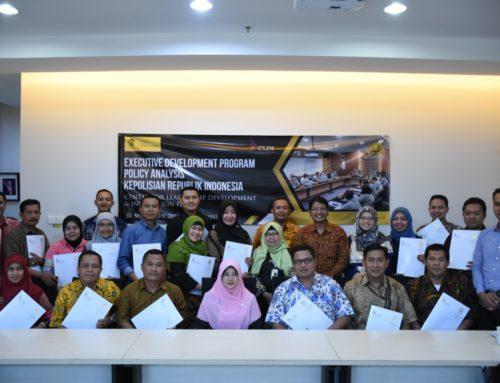 FIA UI Berikan Pelatihan Analisis Kebijakan bagi SDM Polri